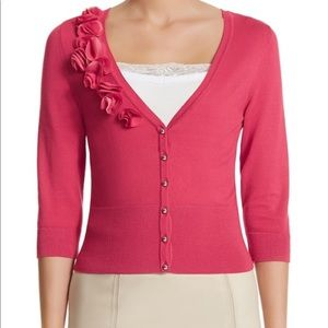 Red/pink whbm cardigan